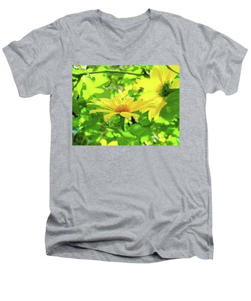 Oahu Sunshine Men's V-Neck T-Shirt