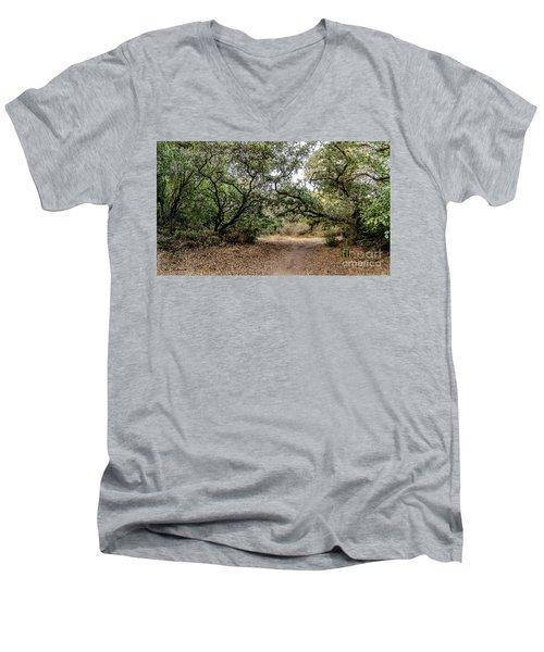 Oak Forest Trail Men's V-Neck T-Shirt