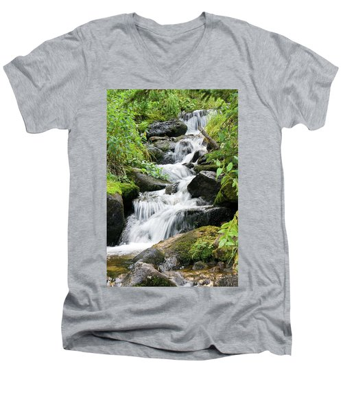 Oasis Cascade Men's V-Neck T-Shirt