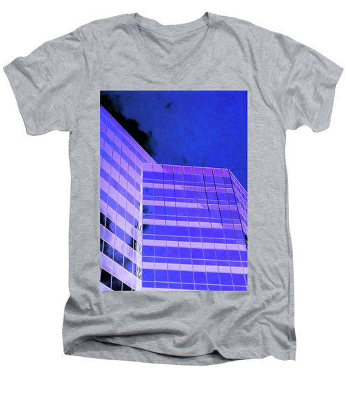 Men's V-Neck T-Shirt featuring the photograph Obscurity In by Jamie Lynn