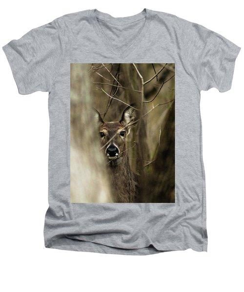 Observed  Men's V-Neck T-Shirt