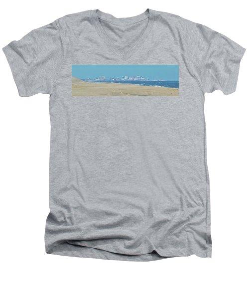 Oc Inlet Color Men's V-Neck T-Shirt