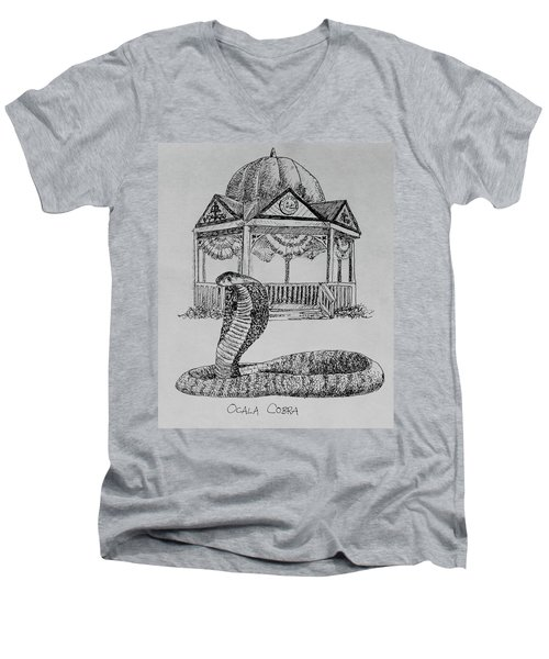 Ocala Cobra Men's V-Neck T-Shirt