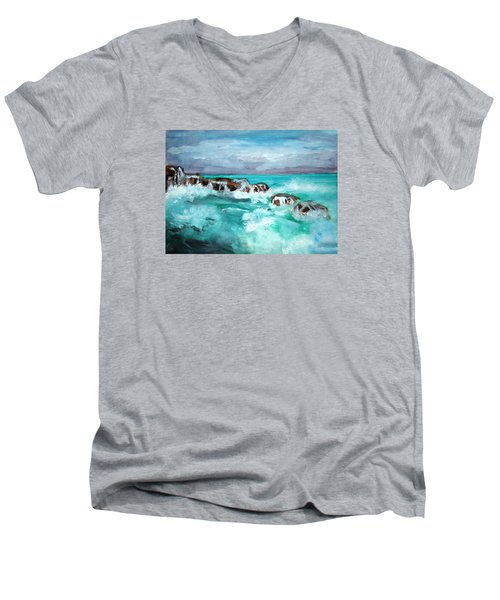 Ocean 14 Men's V-Neck T-Shirt