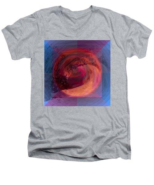 Ocean And Earth Men's V-Neck T-Shirt