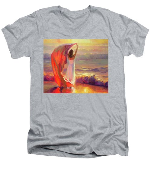 Ocean Breeze Men's V-Neck T-Shirt