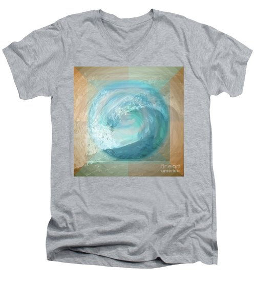 Ocean Earth Men's V-Neck T-Shirt