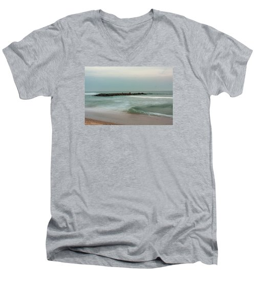 Ocean Flow 2 Men's V-Neck T-Shirt