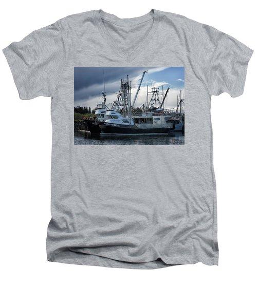 Ocean Phoenix Men's V-Neck T-Shirt