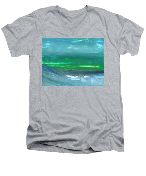 Ocean Swell Men's V-Neck T-Shirt