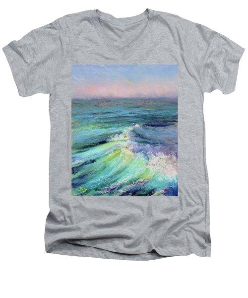 Ocean Symphony Men's V-Neck T-Shirt