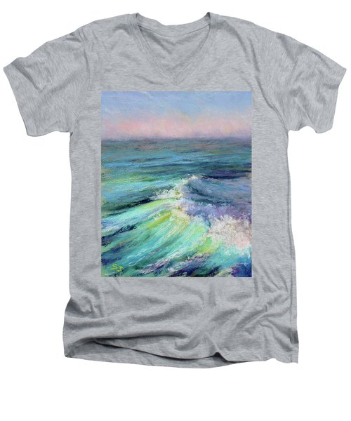 Ocean Symphony Men's V-Neck T-Shirt