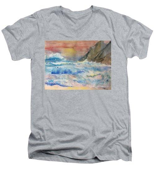 Ocean Waves Men's V-Neck T-Shirt