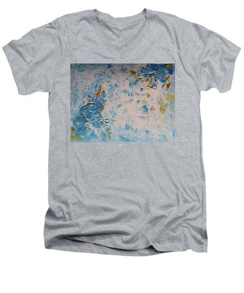 Ocean Whisper Men's V-Neck T-Shirt
