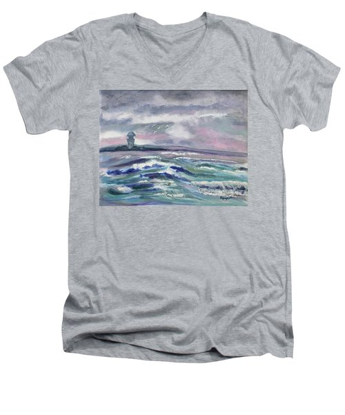 Oceans Of Color Men's V-Neck T-Shirt