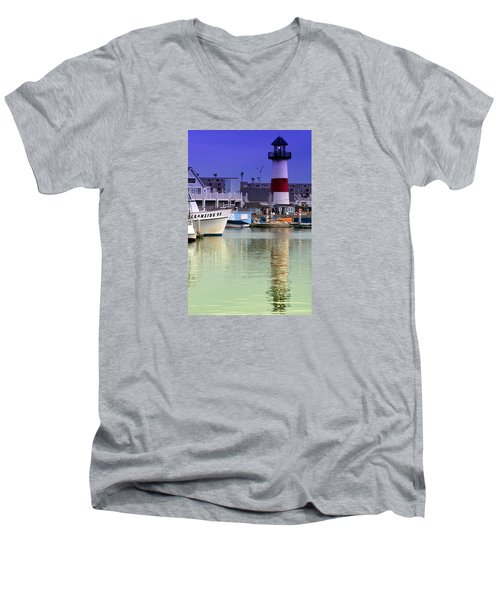 Oceanside Light Men's V-Neck T-Shirt