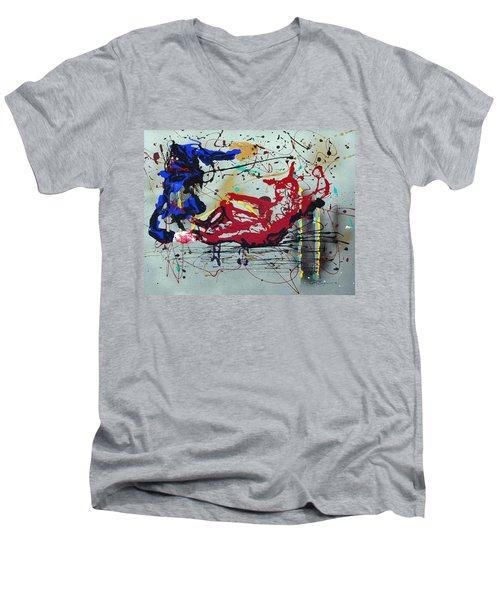 October Fever Men's V-Neck T-Shirt