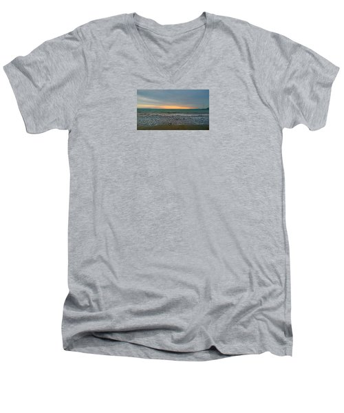 October Sunrise Men's V-Neck T-Shirt