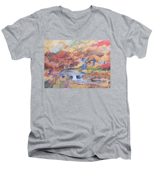 October Walk Men's V-Neck T-Shirt
