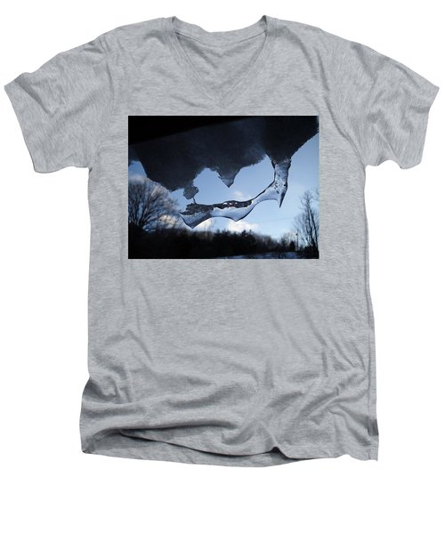 Odd Icicle Men's V-Neck T-Shirt