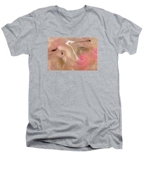 Ode To A Swan 2015 Men's V-Neck T-Shirt
