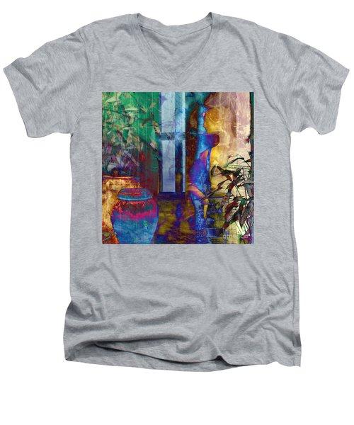 Ode On Another Urn Men's V-Neck T-Shirt
