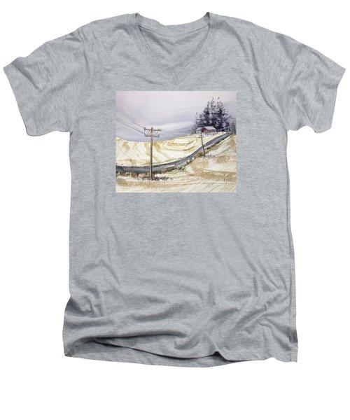 Odell Road Men's V-Neck T-Shirt