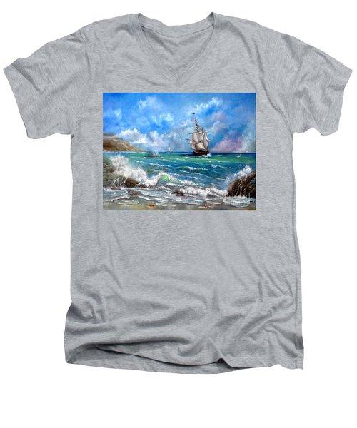 Odessa Men's V-Neck T-Shirt