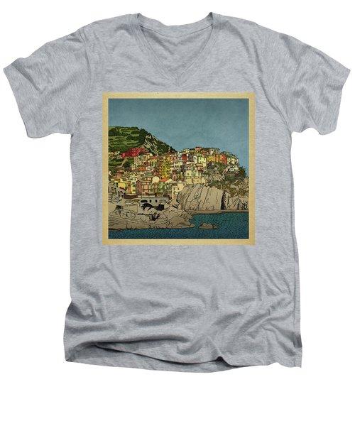 Of Houses And Hills Men's V-Neck T-Shirt