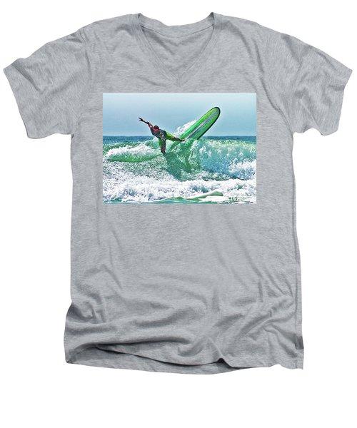 Off The Top Men's V-Neck T-Shirt