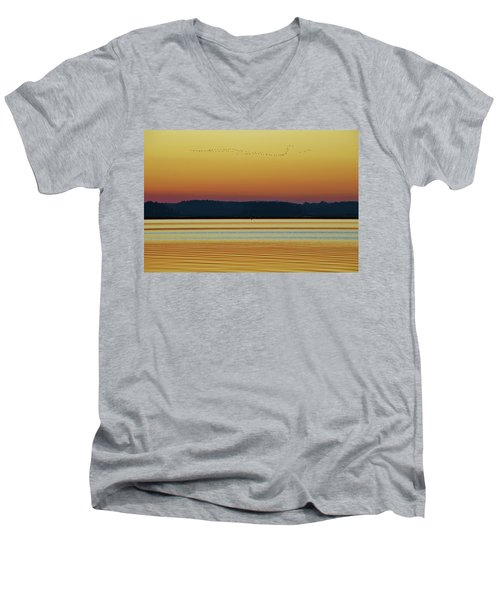 Off To Florida Men's V-Neck T-Shirt