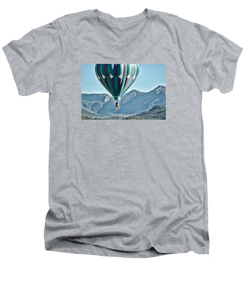 Men's V-Neck T-Shirt featuring the photograph Off To See The Wizard... by Kevin Munro