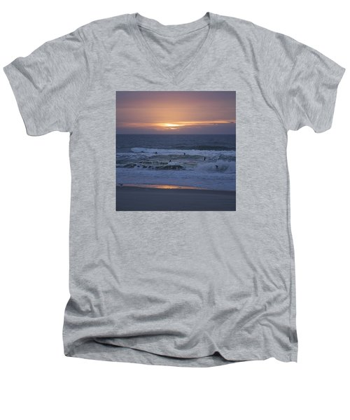 Office View Men's V-Neck T-Shirt