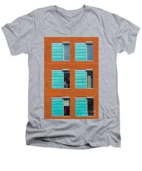 Office Windows Men's V-Neck T-Shirt