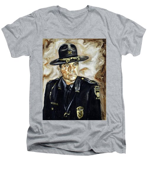 Officer Demaree Men's V-Neck T-Shirt