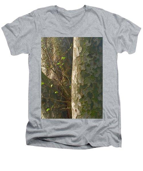 Offshoot Men's V-Neck T-Shirt