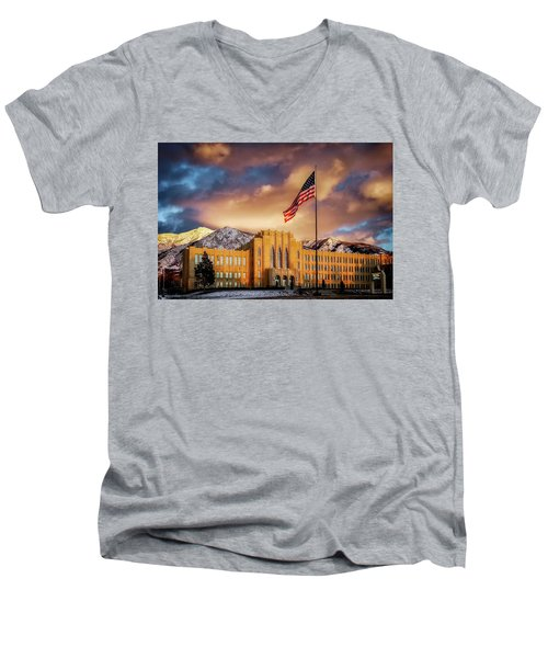 Ogden High School At Sunset Men's V-Neck T-Shirt