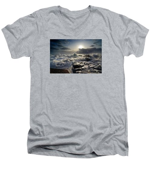 Ogmore By Sea Men's V-Neck T-Shirt