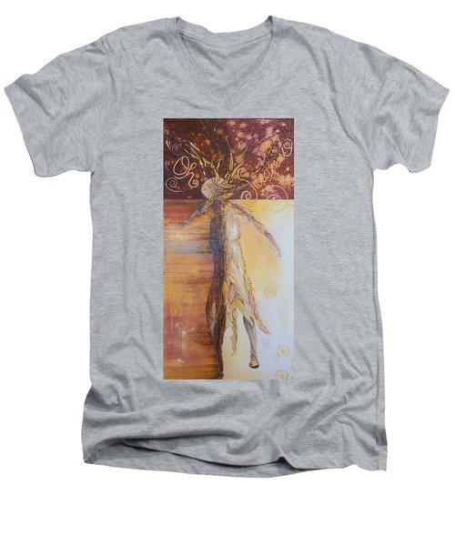 Oh Sweetheart Men's V-Neck T-Shirt by Theresa Marie Johnson