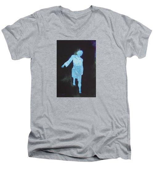 Oh That I Were An Angel  Men's V-Neck T-Shirt