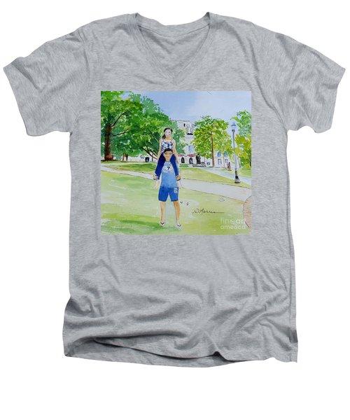 Ohio State Memories Men's V-Neck T-Shirt