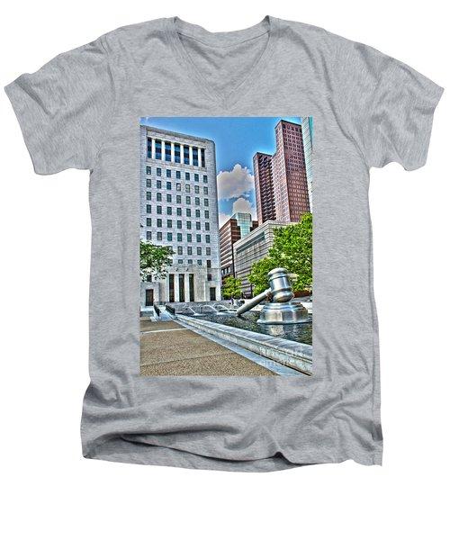 Ohio Supreme Court Men's V-Neck T-Shirt