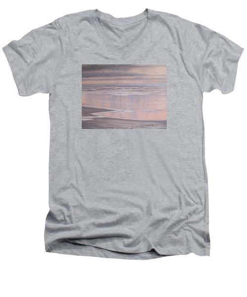 Oil On Canvas Men's V-Neck T-Shirt
