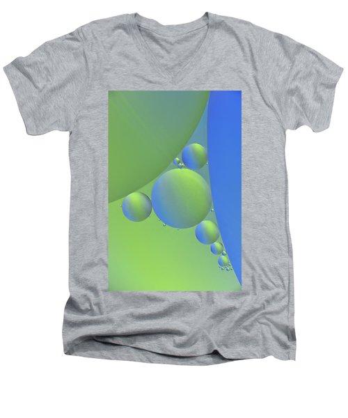 Oil Painting Men's V-Neck T-Shirt