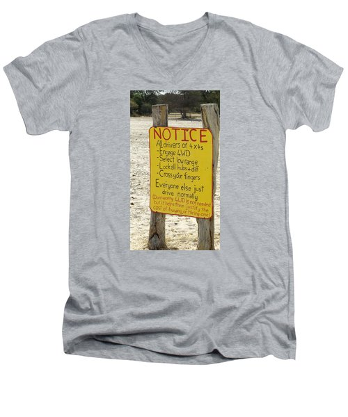 Okavango Humor Men's V-Neck T-Shirt