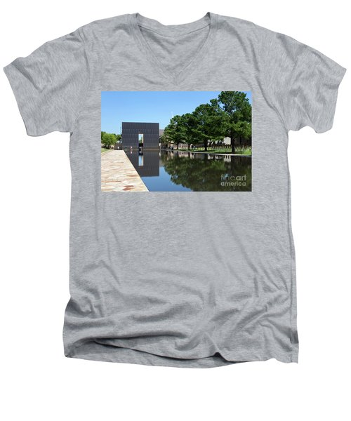 Oklahoma City National Memorial Bombing Men's V-Neck T-Shirt