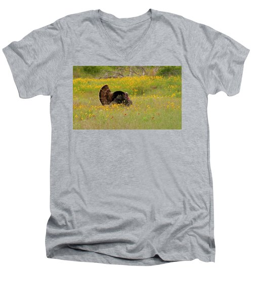Oklahoma Wildlife Men's V-Neck T-Shirt