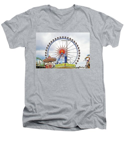 Oktoberfest 2010 Munich Men's V-Neck T-Shirt