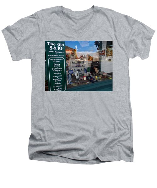 Old 5 And 10 North Conway Men's V-Neck T-Shirt