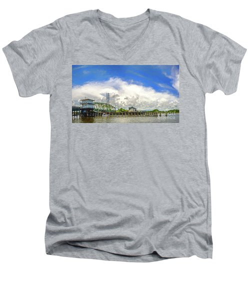 Old And Proud Men's V-Neck T-Shirt